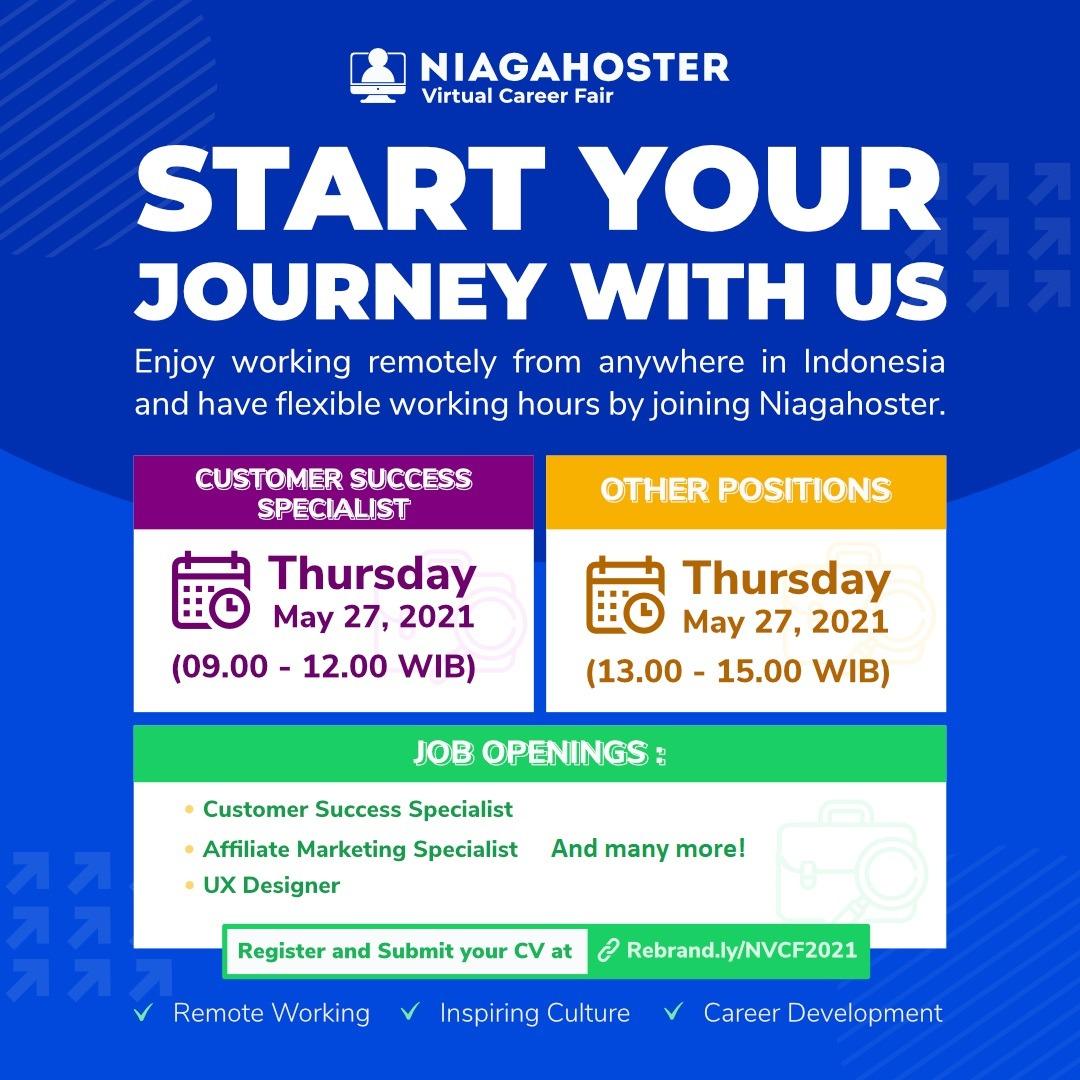 Virtual Career Fair Program Niagahoster 2021