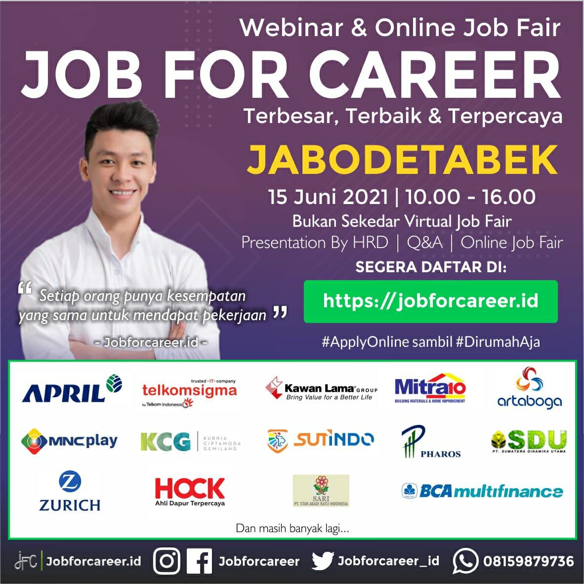 JOB FOR CAREER