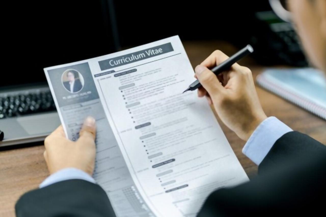 Contoh Surat Lamaran Kerja Beserta Template CV Menarik