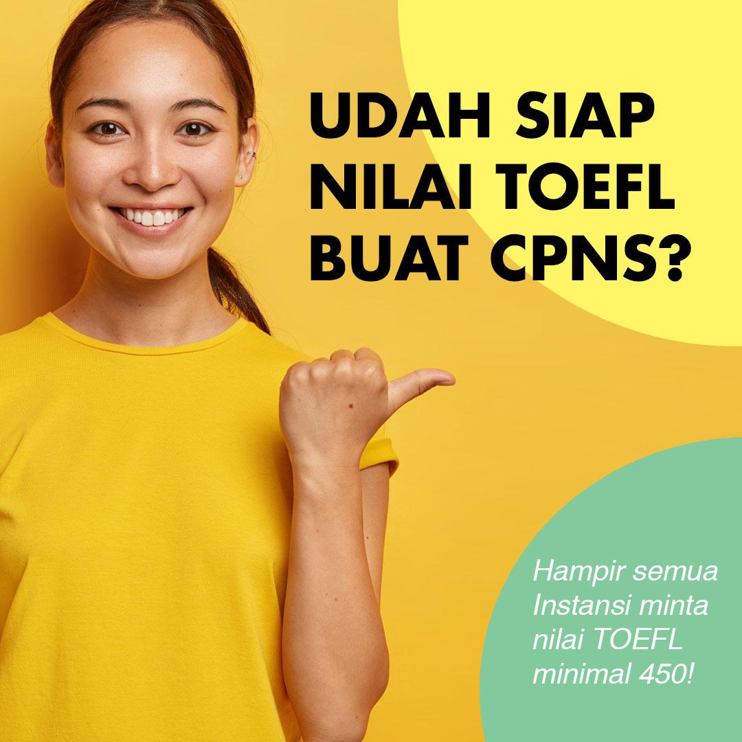 Pendaftaran Tes TOEFL prediction (PBT) di ELIGMU Indonesia