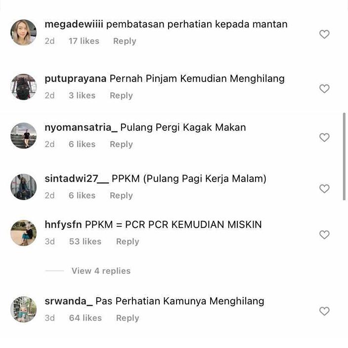 Kepanjangan PPKM Netizen 1