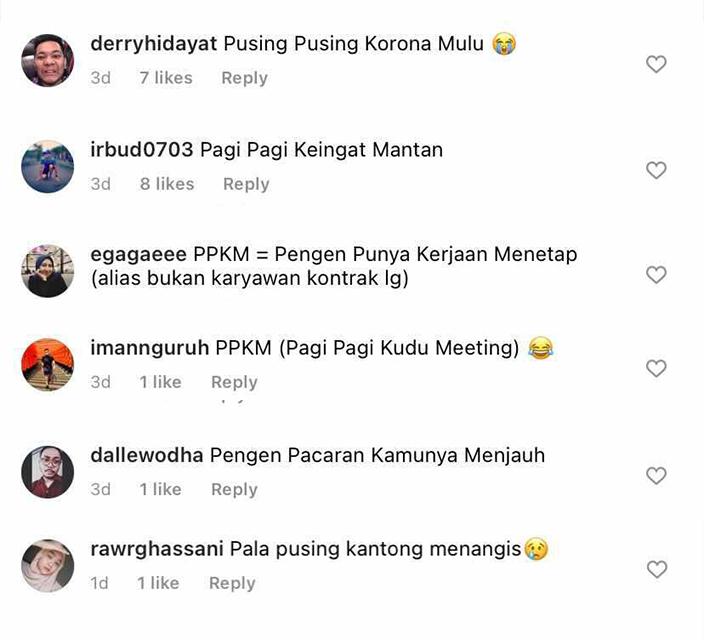 Kepanjangan PPKM Netizen 2