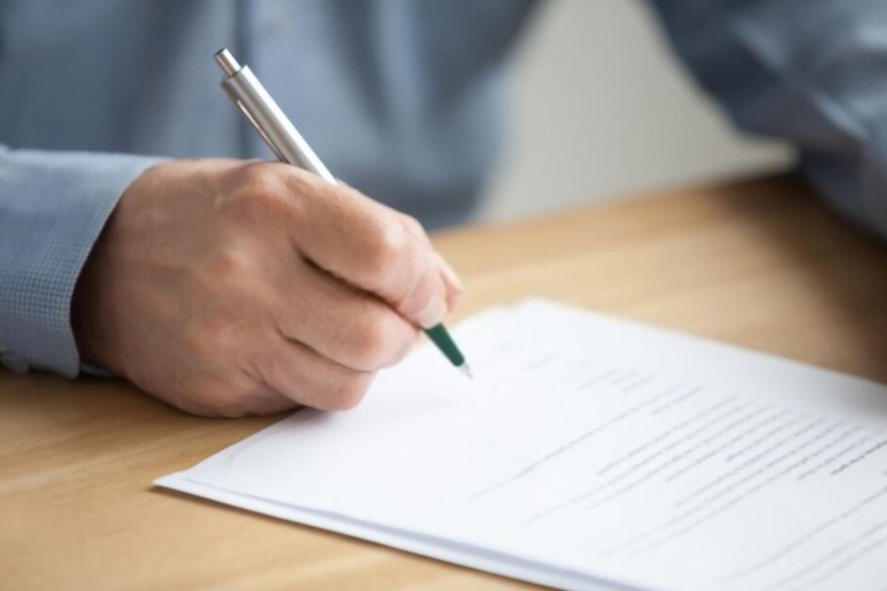 Contoh Surat Pernyataan Orang Tua/Wali Untuk Melamar Kerja
