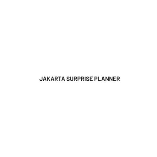 Jakarta Suprise Planner