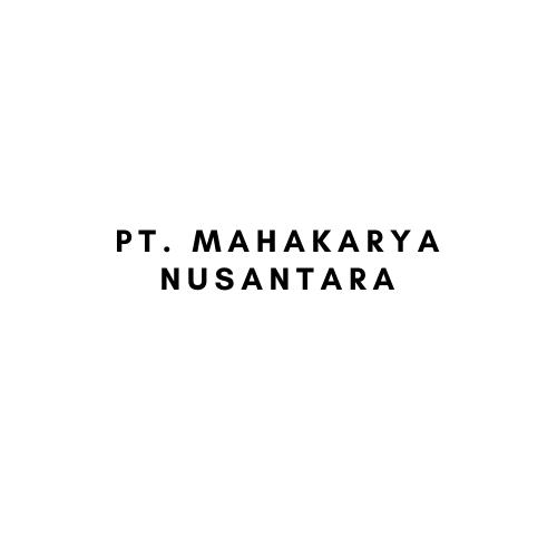 PT. Mahakarya Nusantara